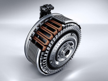 Electric motor of the C 300 BlueTEC HYBRID